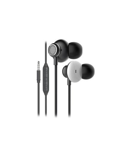 Snopy Sn-X03 Arcus Mobil Telefon Uyumlu Gri Kulak Içi Mikrofonlu Kulaklık Renkli